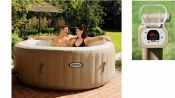 Intex 28404 PureSpa Bubble Therapy Jacuzzi 4-Persoons
