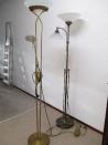 Twee staande lampen