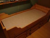 Slaapkamer | Bedden Massief grenen kajuitbed