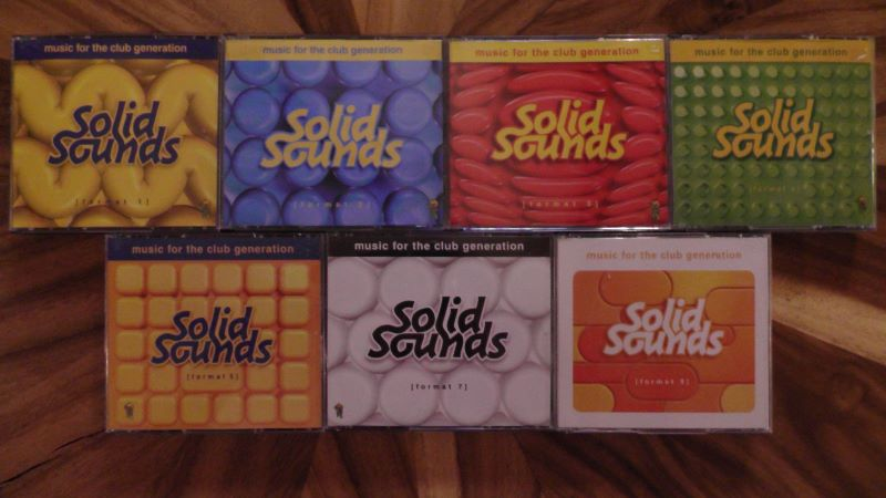 CD'S COLLECTIE SOLID SOUNDS