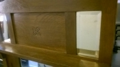 Woonaccessoires | Spiegels mooie oude spiegel in hout