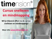 Training snellezen en mindmapping