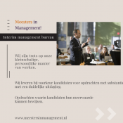 interim management opdrachten