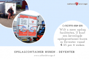 Opslagcontainer Huren - Salland Storage