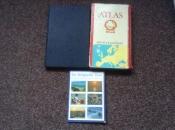 atlas van de wereld, benelux en europa en foto,s van de kust