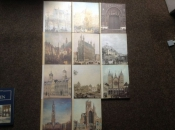 Steden van Belgie ; 11 prachtige boeken ,geschiedenis van vroeger