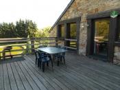 Ardennen vakantiehuisje 5 pers, zwembad, speeltuigen